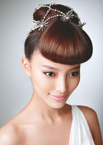 唯美新娘发型欣赏